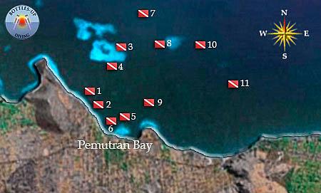duikmap Pemuteran